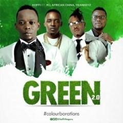 Koffi - Green Remix ft. M.I Abaga, African China & Yeankeyz